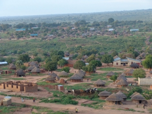 Kitgum town on the way to Kidepo